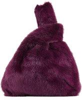Simonetta Ravizza Furrissima Mink Fur Bag, Purple