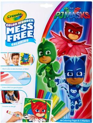 Crayola Mess-Free Color Wonder PJ Masks Activity Set