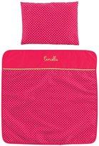 Corolle Mon Classique Cherry Blanket & Pillow Set