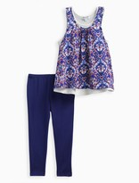 Splendid Little Girl Printed Tank Pant Set