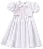 Feltman Brothers Baby Girls 12-24 Months Mock Vest Dress