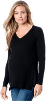 A Pea in the Pod Maternity High-Low Sweater