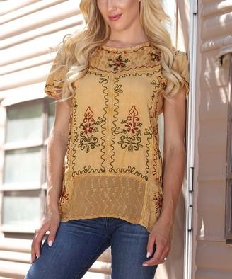 Ananda's Collection Women's Tunics hazel - Hazel Embroidered Tunic - Women & Plus