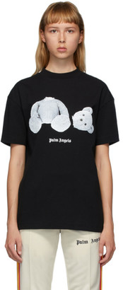 Palm Angels Black Ice Bear T-Shirt