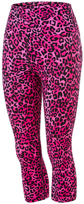 Running Bare Womens Ab Waisted Fight Club 3/4 Tights
