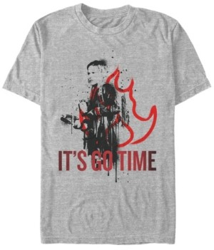 Fifth Sun Men's Netflix Daybreak Angelica It's Go Time Short Sleeve T-Shirt