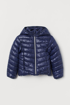 H&M Padded Lightweight Jacket - Blue