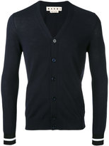 Marni slim knitted cardigan - men - Cotton - 46