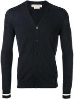 Marni slim knitted cardigan - men - Cotton - 46