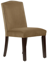 Skyline Furniture Nail Button Arched Dining Chair