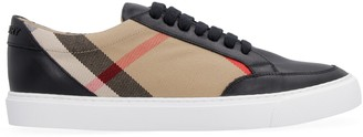 Burberry Tartan Print Sneakers