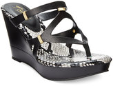 Thalia Sodi Luz Platform Wedge Sandals, Only at Macy's