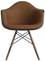Design Within Reach Eames Upholstered Molded Fiberglass Dowel-Leg Armchair (DFAW)