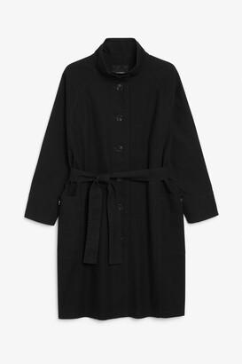 Monki Long utility jacket