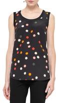 Akris Punto Women's Polka Dot Silk & Wool Shell