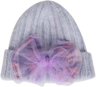 CA4LA Light Blue Mohair-wool Blend Hat
