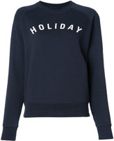 Holiday branded sweatshirt - women - Cotton - M