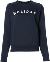 Holiday branded sweatshirt - women - Cotton - XS