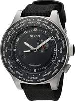 Nixon Men's Passport A321001 Cloth Swiss Quartz Watch