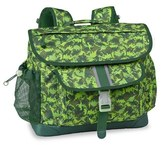 Bixbee Boy's 'Large Dino Camo' Water Resistant Backpack - Green