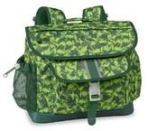 Bixbee Boy's 'Large Dino Camo' Water Resistant Backpack - Green