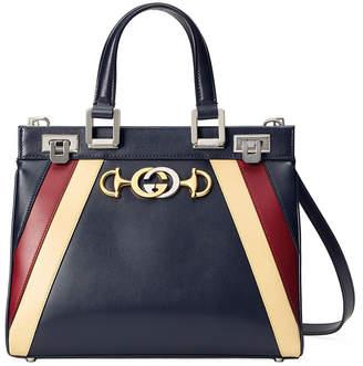 Gucci Small Zumi Stripe Top Handle Bag