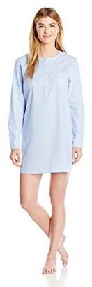 Nautica Women's Cotton Chambray Sleepshirt