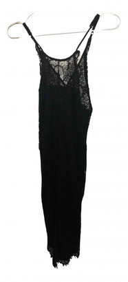 Free People Black Lace Dresses