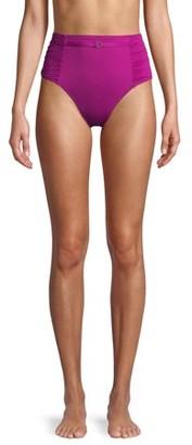 Time and Tru Women's Capri Cruise High Waist Swimsuit Bottom