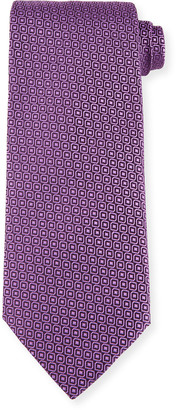 Charvet Men's Mini Medallions Silk Tie