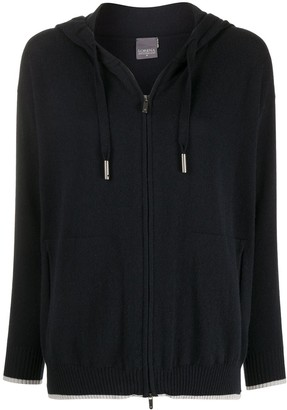 Lorena Antoniazzi Zip-Through Hooded Sweater