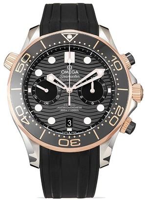 Omega 2020 unworn Seamaster Diver 300m Chronograph watch 44mm