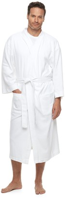 Hanes Men's Ultimate Waffle-Weave Knit Spa Robe