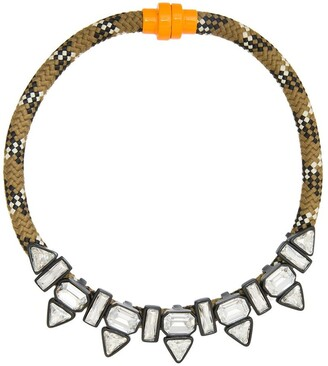 OSKLEN Riche embellished necklace