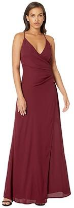 WAYF Allison (Cabernet) Women's Dress