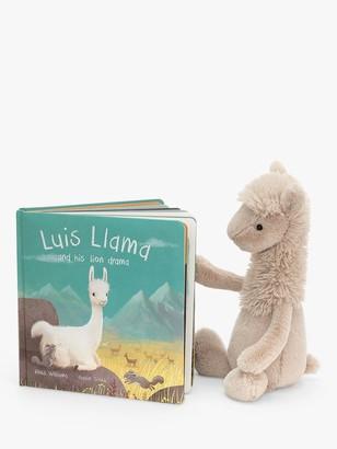 Jellycat Luis Llama Children's Book
