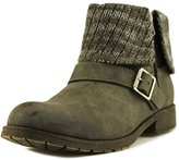 Rocket Dog Women's Bentley Suspect Pu - Herman Knit Fabric Ankle Bootie