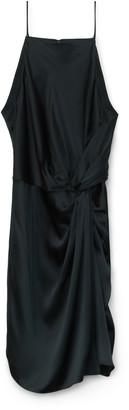 Alexander Wang Silk Apron Dress
