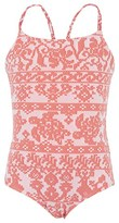 Vilebrequin Coral Turtle Print Swimsuit