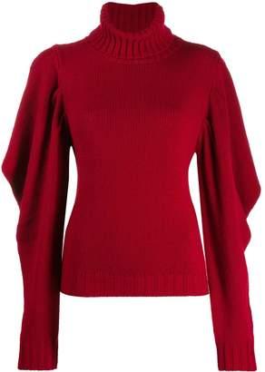 P.A.R.O.S.H. pleated sleeve sweater