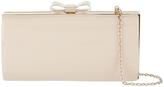 Accessorize Jodie Bow Hardcase Clutch Bag