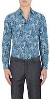 Paul Smith Men's Monkey-Paisley Cotton Poplin Shirt