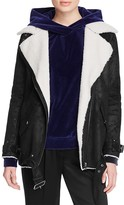 The Kooples Faux Shearling Aviator Perfecto Jacket- 100% Bloomingdale's Exclusive