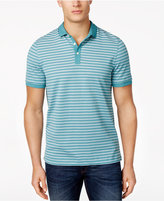 Michael Kors Men's Leland Striped Cotton Polo