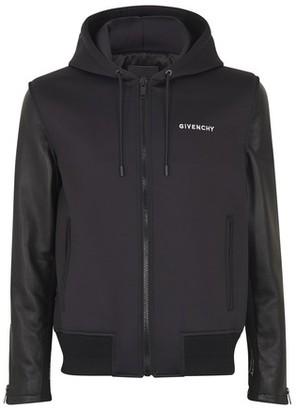 Givenchy Neoprene & leather jacket