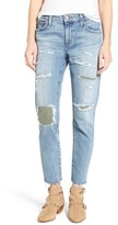 Joe's Jeans Women's Collector's Ex-Lover Straight Leg Mended Boyfriend Jeans