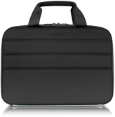 "Giorgio Fedon Ninja File 2 Black Coated Jersey 13"" Laptop Bag"
