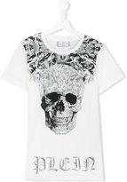 Philipp Plein teen printed T-shirt - kids - Cotton - 14 yrs
