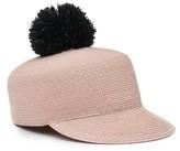 Eugenia Kim Women's Pom Straw Hat - Pink