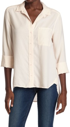 Cloth & Stone Shirt Tail Button Down Shirt